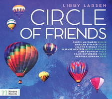 Libby Larsen - Circle of Friends. © 2015 Navona Records LLC (NV6014)