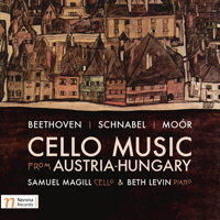 Cello Music from Austria-Hungary - Beethoven, Schnabel, Moór. © 2016 Navona Records LLC (NV6024)
