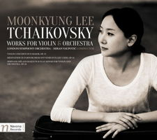 Moonkyung Lee - Tchaikovsky: Works for Violin and Orchestra. © 2017 Navona Records LLC (NV6079)