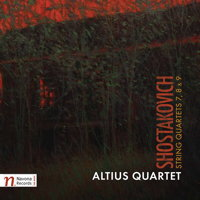 Altius Quartet - Shostakovich: String Quartets 7, 8 and 9. © 2017 Navona Records LLC (NV6125)
