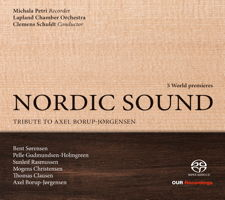 Nordic Sound - Tribute to Axel Borup-Jørgensen. © 2015 OUR Recordings (6.220613)
