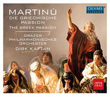 Martinu: The Greek Passion. © 2017 OehmsClassics Musikproduktion GmbH (OC 967)
