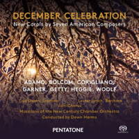 December Celebration - New Carols by Seven American Composers. © 2015 Pentatone Music BV (PTC 5186 537)