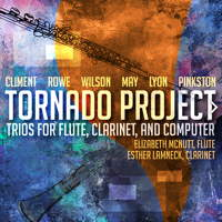 Tornado Project - Trios for Flute, Clarinet and Computer. © 2015 Ravello Records LLC (RR7908)