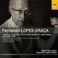 Lopes-Graça: Music for String Quartet and Piano, Volume 2. © 2015 Toccata Classics (TOCC 0254)