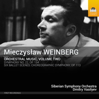 Mieczyslaw Weinberg: Orchestral Music, Volume Two. © 2015 Toccata Classics (TOCC 0313)
