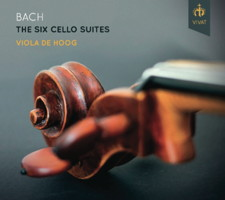 Bach: The Six Cello Suites - Viola de Hoog. © 2014 Vivat Music Foundation (VIVAT 107)