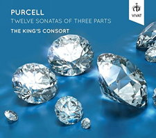 Purcell: Twelve Sonatas of Three Parts - The King's Consort. © 2015 Vivat Music Foundation (VIVAT 110)