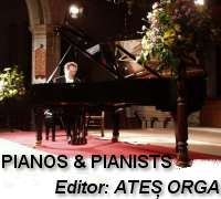 Pianos and Pianists - Editor Ates Orga